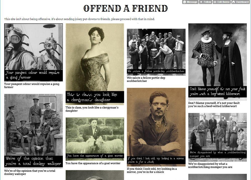 Offend a Friend screenshot